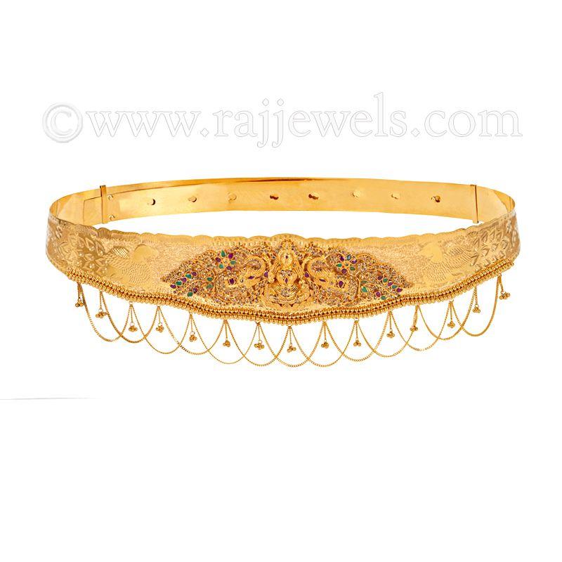 22k Gold Temple Lakshmi Vaddanam