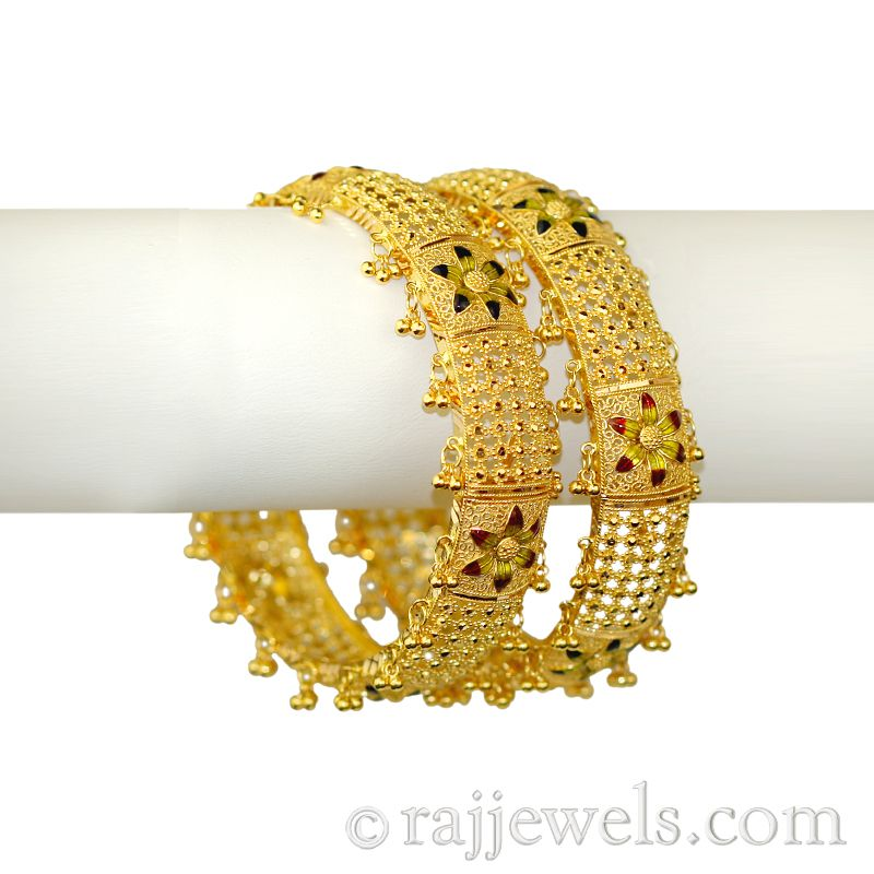 22k Gold Anandini Gold Bangles
