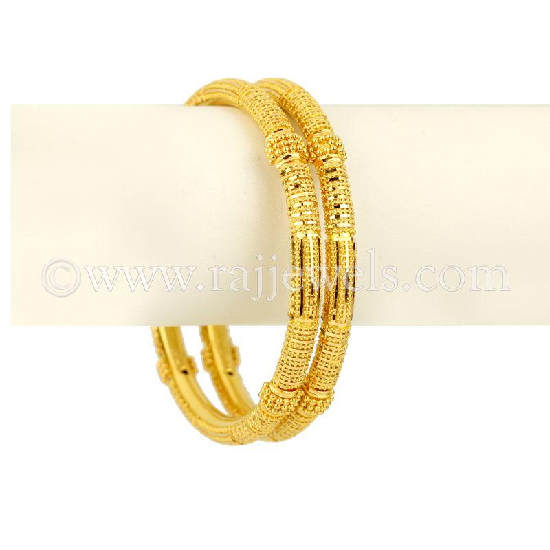 22k Gold Plain Gold Pipe Kadas