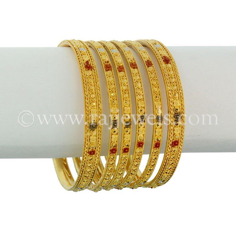 22k Gold Emara Gold Bangles