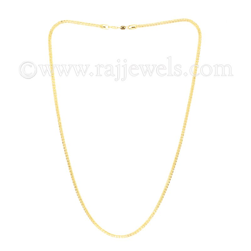 22k Gold Round Snake Chain