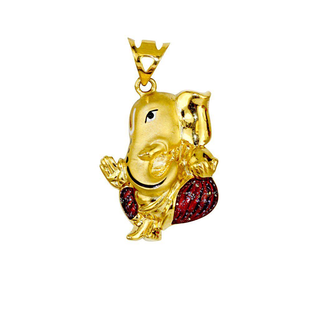 22k Gold 22K Lord Ganesh Pendant