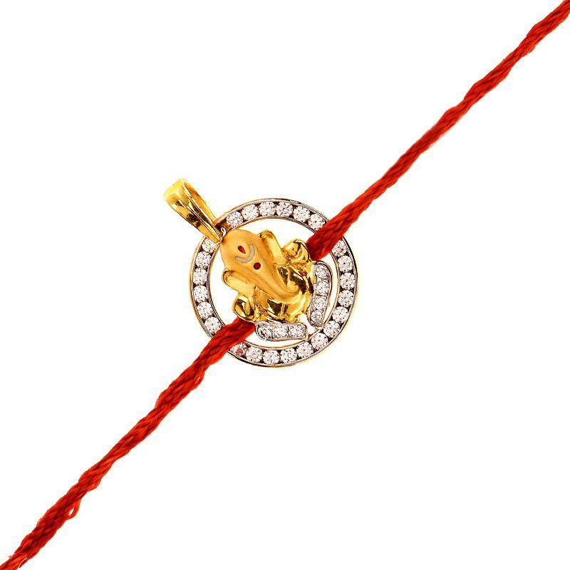 22k Gold Lord Ganesh Pendant