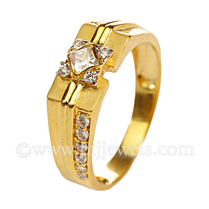 22k Gold Macho Cluster Ring