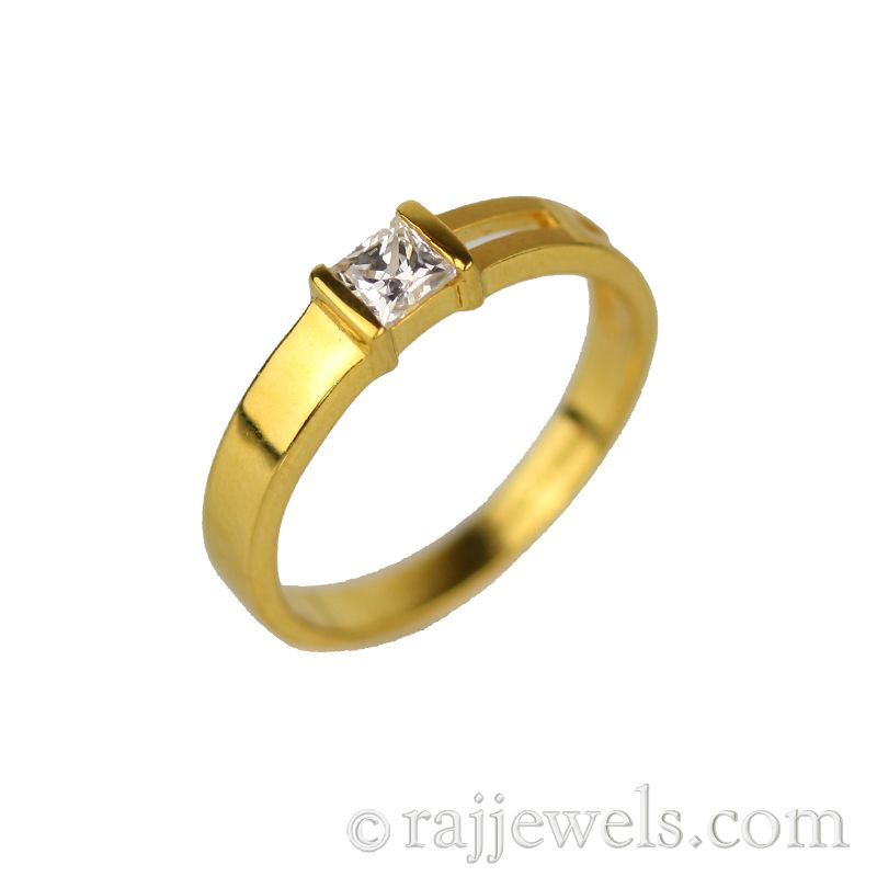 22k Gold Classic Yellow Gold Band