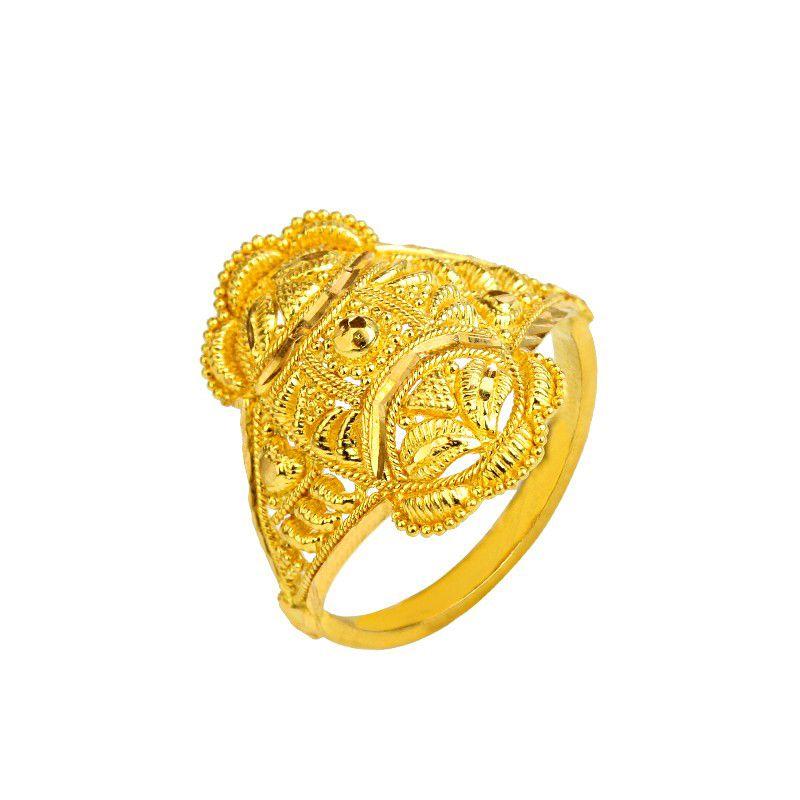 22k Gold Magnus Filigree Ring