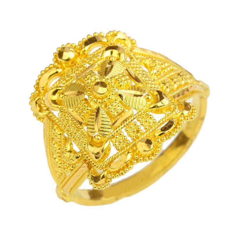 22k Gold Grand Filigree Ring