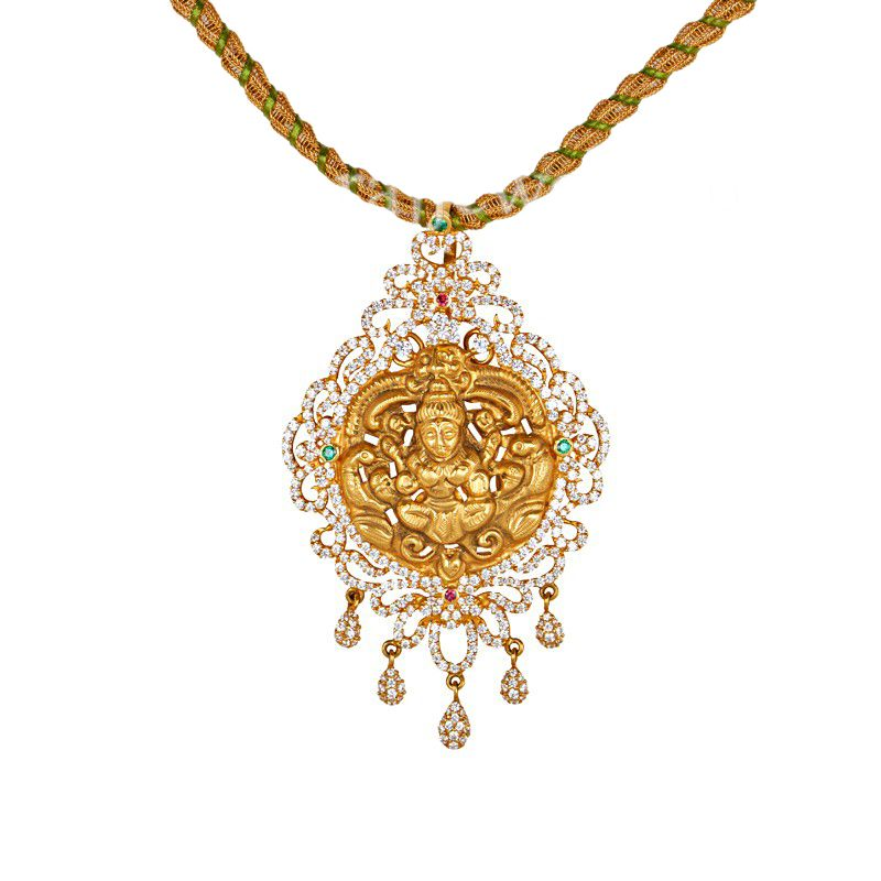 22k Gold 22k Gold Temple Necklace