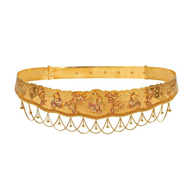 22k Gold Radha Krishna Vaddanam