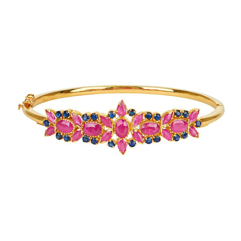 22k Gold Ruby Rapture Bracelet