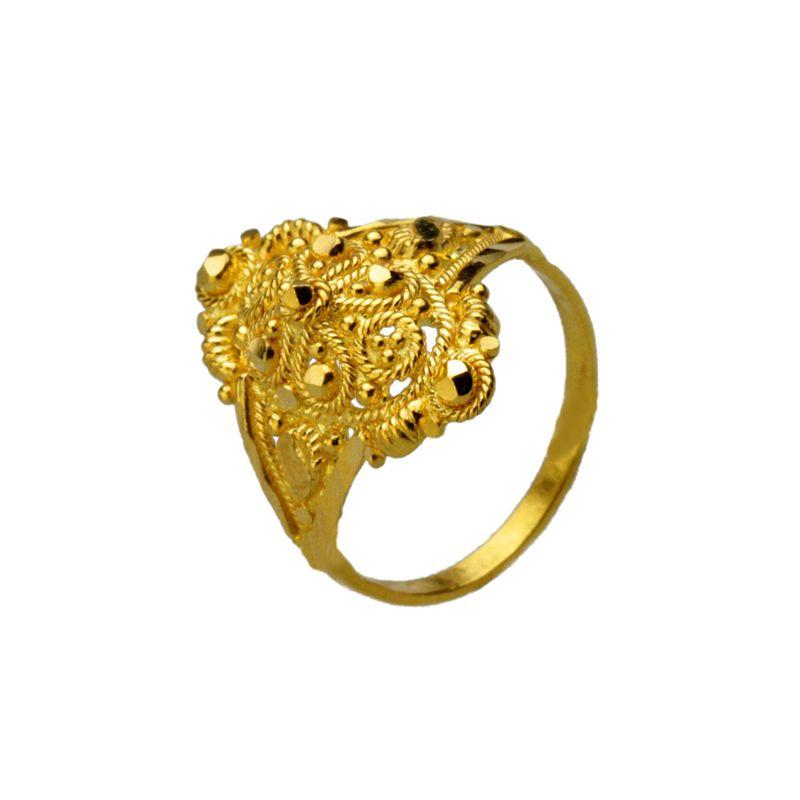 22k Gold Grand Design Baby Ring