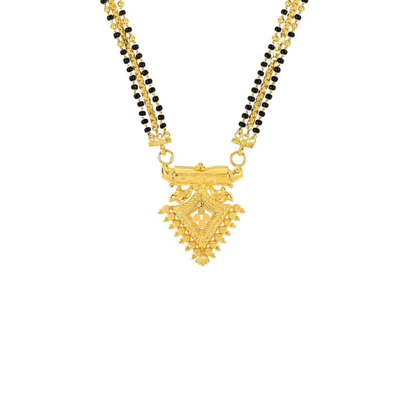 Fancy Long Gold Mangalsutra