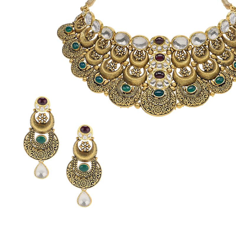 Aniha Antique Choker Necklace