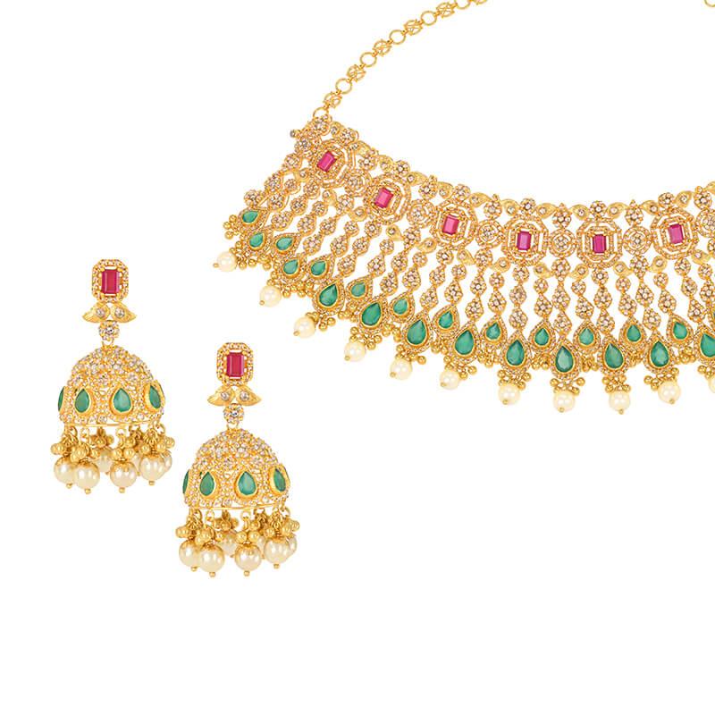 Lavae Uncut Diamonds Necklace