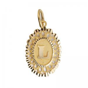 Letter e gold pendant letter l oval pendant237 aloadofball Choice Image