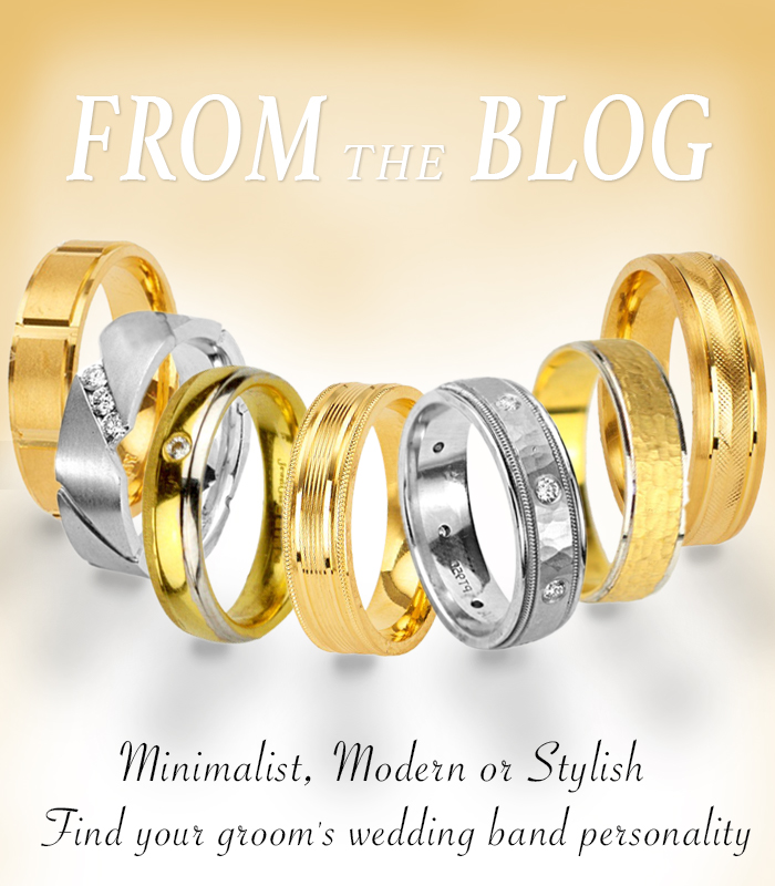 gold wedding bands blog