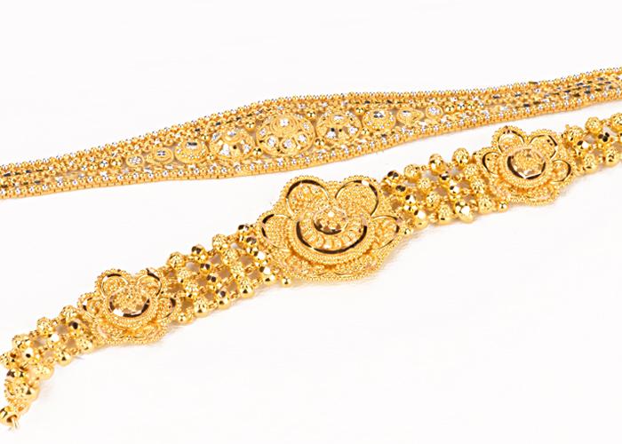 22k gold bracelets
