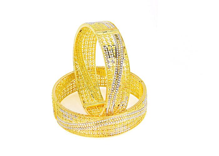 22k gold bangles for her