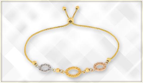 jewelry trending geometrical design bolo bracelet