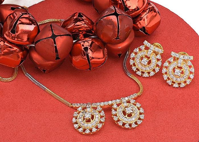 Gold CZ Necklaces