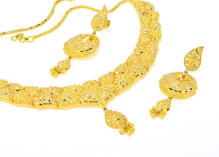 gold 22k necklaces