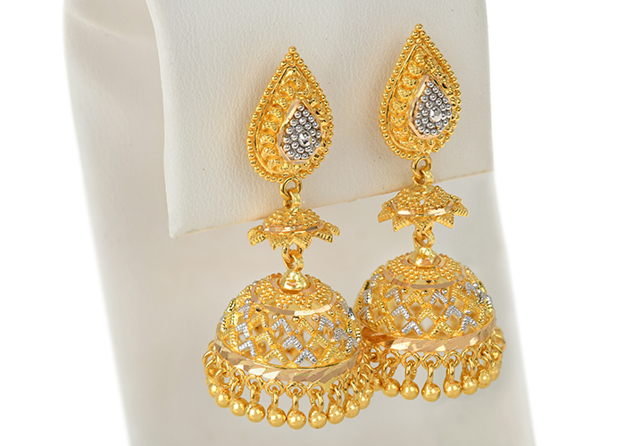 Classic Gold Jhumkas