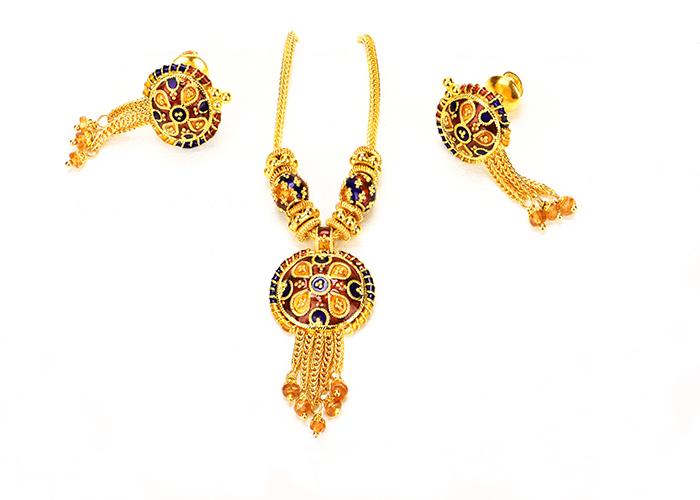 22kt Gold Necklace sets