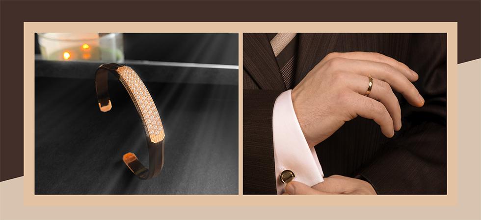 Blog on men's 22k gold & platinum jewelry trends