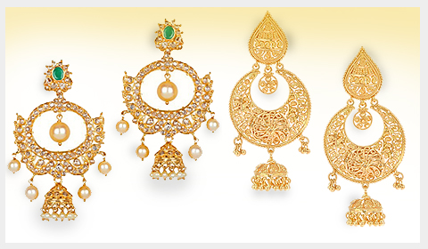 chand bali jhumka designs