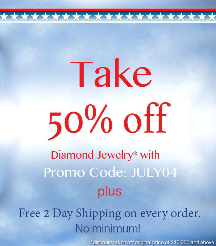 July 4 diamond Jewelry sale & deals