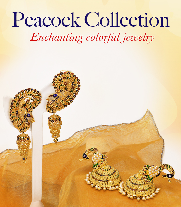 Peacock Gold Jewelry Collection