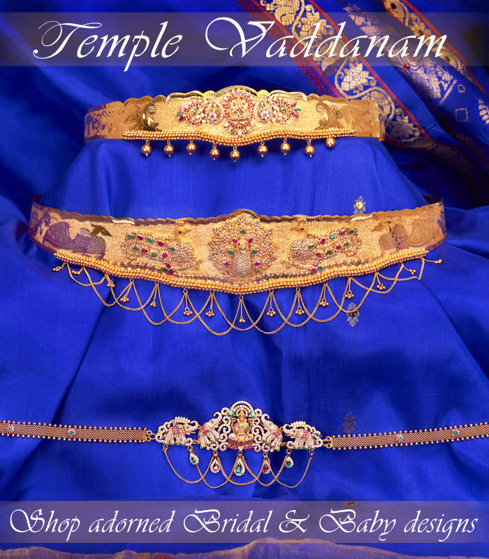 Temple vaddnam for women, kids & baby