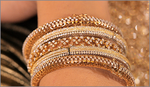diamond bridal bangles