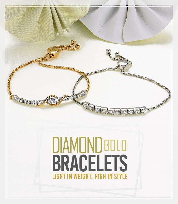 Diamond Bolo bracelets
