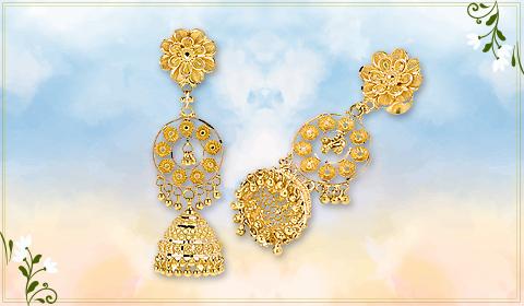 floral design earrings blog