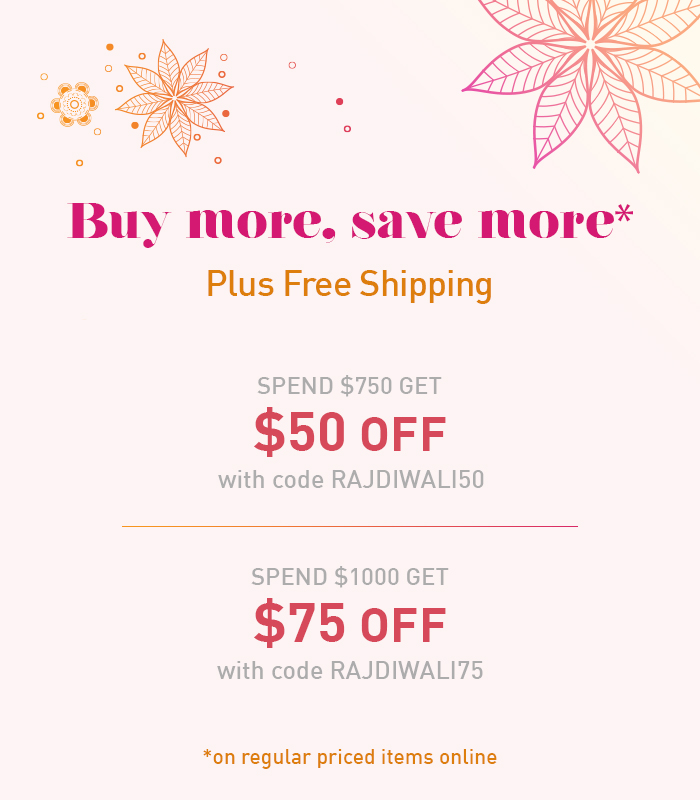 shop jewelry with special offers on Diwali