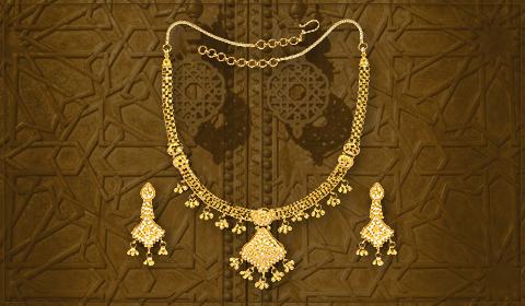 trendy jewelry filigree designs necklace