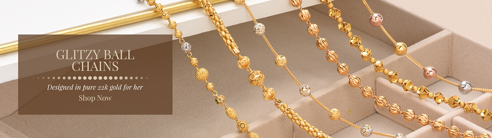 Glitzy Ball Chains