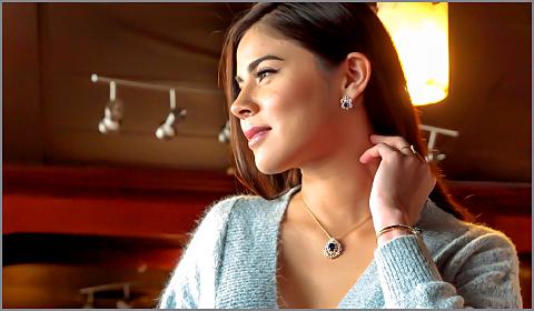 diamond jewelry for thirties women