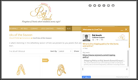 Raj Jewels customer reviews