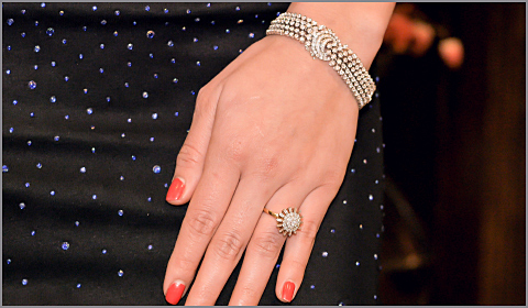 diamond statement jewelry for thirties women