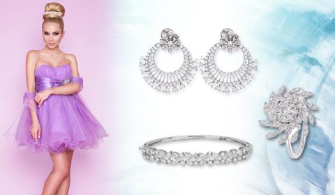 diamond jewelry look prom style blog