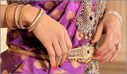 diamond bridal vaddanam necklace