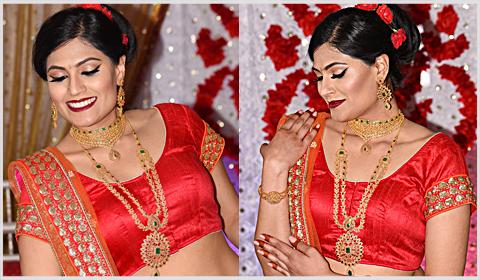 uncut diamonds bridal necklaces