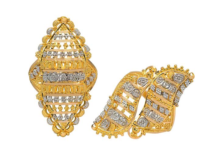 Filigree Gold Rings