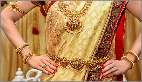 south indian bridal vaddanam
