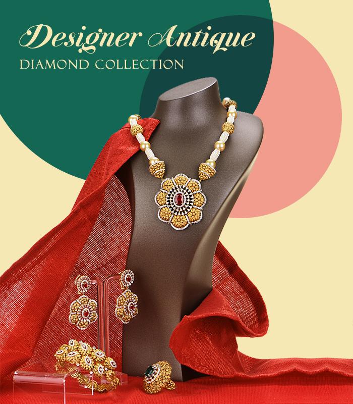 designer antique diamond jewelry