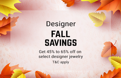 Fall Savings Get 45% to 65% OFF