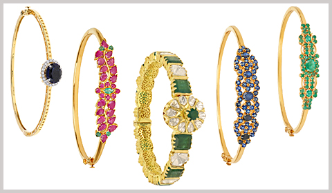 gemstone-bangle-bracelets
