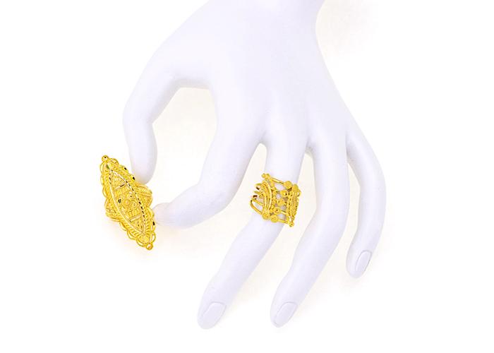 22k gold rings for her